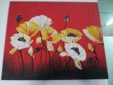 Pintura al óleo /Oil de la flor que pinta artes/la pintura de la lona de pintura de la mano
