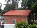 Teja de techo de resina sintética de colores para casa residencial