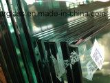 vetro della doccia di 12mm con hardware di vetro
