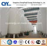 Réservoir de stockage industriel de liquide cryogénique de basse pression
