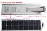 2016 1つの熱い販売5W-100W太陽LEDの街灯の動きセンサーの統合された太陽街灯すべて(Shinehui)