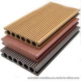 Plancher composé en plastique en bois pour l'application extérieure