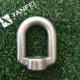 Eslabón giratorio/anillo de elevación plateados cinc caliente del ojo de las ventas