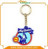 La promotion a annoncé le trousseau de clés coloré de PVC