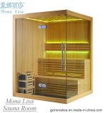 Pièce privée de sauna de plaisir de modèle de la Finlande (M-6031)