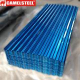Hoja de acero corrugado para techos de materiales de construcción