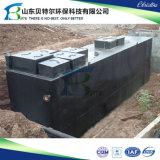 Usine biologique compacte de traitement des eaux d'eaux d'égout, employée couramment dans les hôpitaux, autoroute urbaine, hôtels, Usine-Mbr