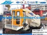 De hydraulische Mariene Kraan van het Schip van het Voetstuk van de Boom van het Gewricht Zwenkende