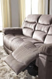 Muebles de cuero del sofá de la tela del Recliner