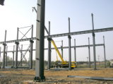 Le projet de construction modulaire préfabriqué de la Mozambique/a préfabriqué la structure métallique