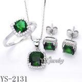 형식 925 Silver Jewelry Set 또는 Wedding Ring (YS-1255, 1390년, 2131/38/39/50)