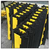 熱い販売1-5のチャネル/方法ゴム製ケーブルの保護装置ケーブルの傾斜路