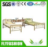 寝室の家具の金属のシングル・ベッド