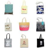 種類のハンドルの綿のショッピング・バッグ