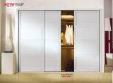 침실 (yg-003)를 위한 고품질 Morden 디자인 PVC 셔터 시리즈 옷장 미닫이 문