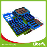 CE Approved Liben Popular Kids крытое Trampoline Park с Foam Pit