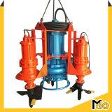 Pompe submersible résistante à l'usure de boue avec l'agitateur