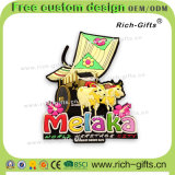 Souvenir promotionnel personnalisé Malaisie (RC-MY) d'aimants de réfrigérateur de décoration de cadeaux à la maison