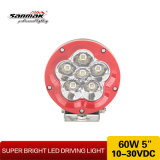 5inch New Headlight CREE LED Driving Light voor Offroad (SM6062-60W)