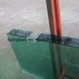 vidro Tempered desobstruído de 8mm para a porta do banheiro com CCC