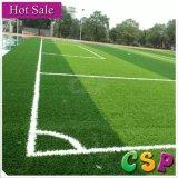 Grama material do futebol do PE/relvado artificial para o campo de futebol