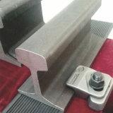 Trilho de aço do guindaste do dever claro pesado da alta qualidade