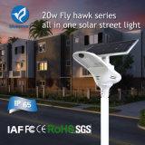 2017 원격 제어를 가진 가장 새로운 통합 태양 LED 가로등 (15W-80W)