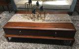Mesa de centro clássica nova do sólido Wood+MDF