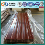 Gewölbtes Dach-Blatt/Farben-überzogenes gewölbtes Stahlblech! Stahl mit Hight Qualität