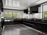 Projeto 2016 moderno disponível do gabinete de cozinha da laca do MDF de Welbom