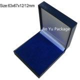 Fabricante de la caja de embalaje del regalo de la joyería de la casilla blanca para el embalaje pendiente