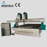 Алюминиевая машина CNC переклейки древесины металла пластичная каменная (2030-2)