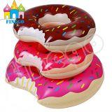 여름 부유물 팽창식 도넛 수영 반지 팽창식 도넛