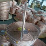 Катушки блинчика закала ASTM B280 пробка мягкой медная в рефрижерации