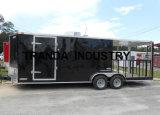 Nieuwe 8.5 X de 24 Ingesloten Aanhangwagen van de Catering van de Concessie van de Keuken van de Verkoop van het Voedsel Mobiele