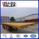 Китай 40FT Flat Bed Trailer для Sale к Африке