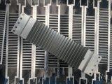 알루미늄 열 싱크 단면도 열 싱크는 모듈 가로등 내밀었다