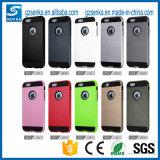 Neuer Vrs Pinsel-Satin-Handy-Verteidiger-Fall-Deckel für das iPhone 7/7 Plus