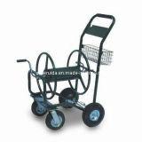 حديقة منتوجات فولاذ [300-فت] عربة خرطوم بكرة لفّ