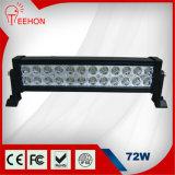 オフロードトラックのための工場によって提供される72W LEDのライトバー