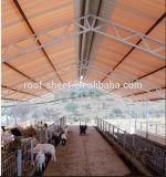 Используемая ферма поголовья UPVC пластичная настилающ крышу лист