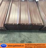 Покрынный цветом гальванизированный стальной лист крыши с типом трапецоида