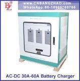 1A ao gabinete do carregador de bateria da C.C. 80A de 220VAC ao sistema de bateria 110VDC