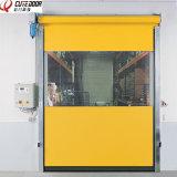 Reajustar la puerta industrial del PVC de la velocidad autorreparadora de la puerta de la cremallera