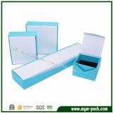 Caixa de jóia feita sob encomenda do papel de embalagem da venda quente