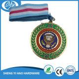 Medaglia placcata oggetto d'antiquariato su ordinazione della medaglia del metallo di sport