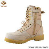 Hot Sale Suede Cow Leather Russian Military Desert Boots (WDB016)
