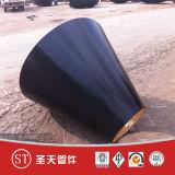 Reductor concéntrico del tubo de acero de carbón