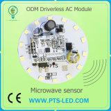 placa de alumínio do PWB do módulo do diodo emissor de luz da C.A. SMD de Driverlss da vela do diodo emissor de luz do Técnico Especialista de Filial SKD de 5W 6W