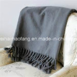 헤링본 Weave 100%Cotton Blanket Throw